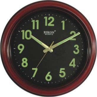 full night glow wall clock