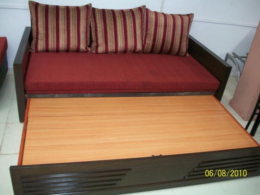 Wooden Sofa Cum Bed Manufacturer Service In Mumbai