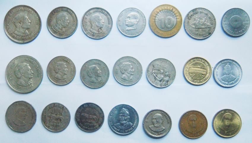 Rare indian old coins