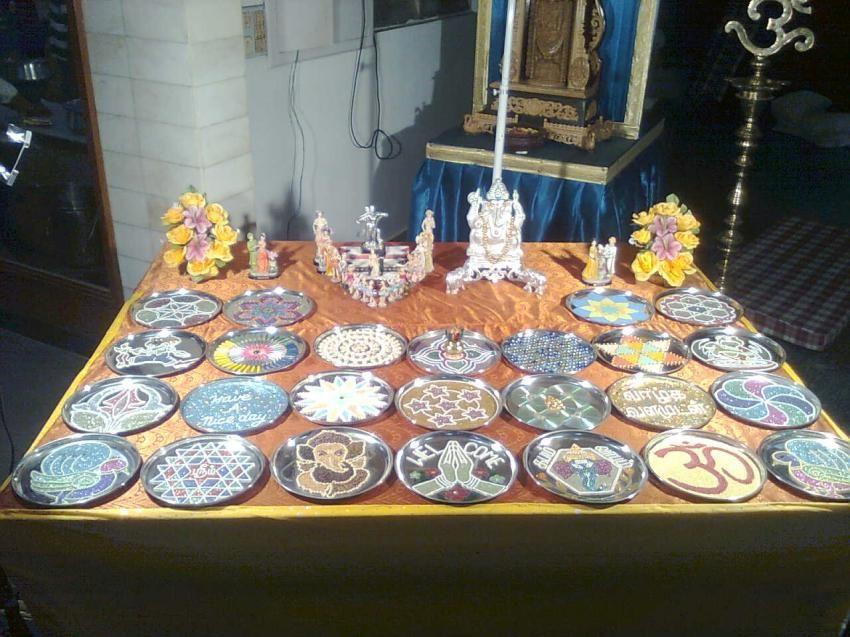 Aarathi plates for Arathi thattu decoration