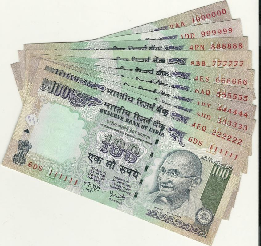 Image result for rupees 100 notes