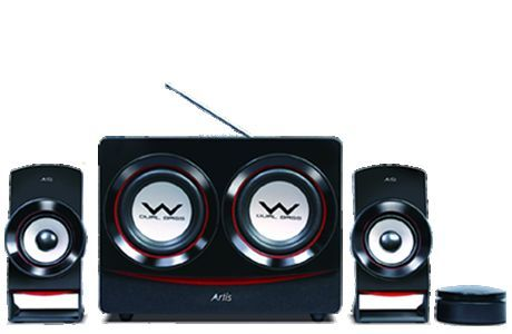 Artis 2 1 S Dual Speakers Fm Usb