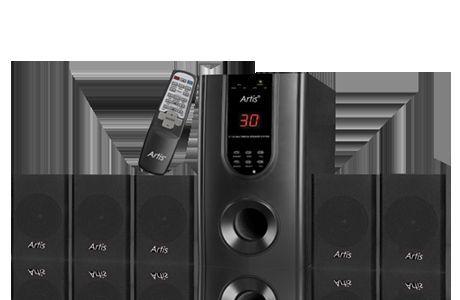 New Artis S 5555 Usb 5 1 Speakers With Remote 3000watt